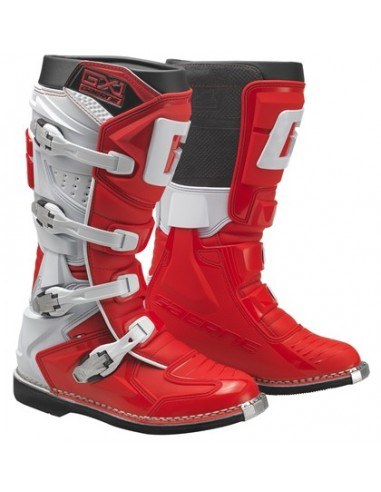 Botas Gaerne GX1 Goodyear  rojo/blanco